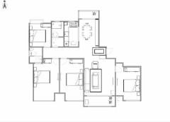 (城东)幸福壹号公馆4室2厅2卫161m²毛坯房