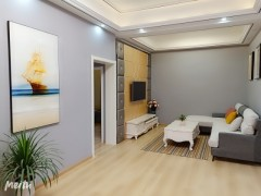 (城东)幸福壹号公馆4室2厅1卫125m²精装修