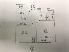 (城东)丰和名都2室2厅1卫70.33m²精装修