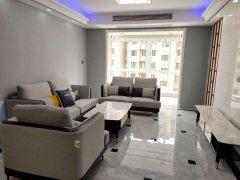 时代国际5楼3室2厅1卫双阳台,三房朝南,豪华装修设施齐全!